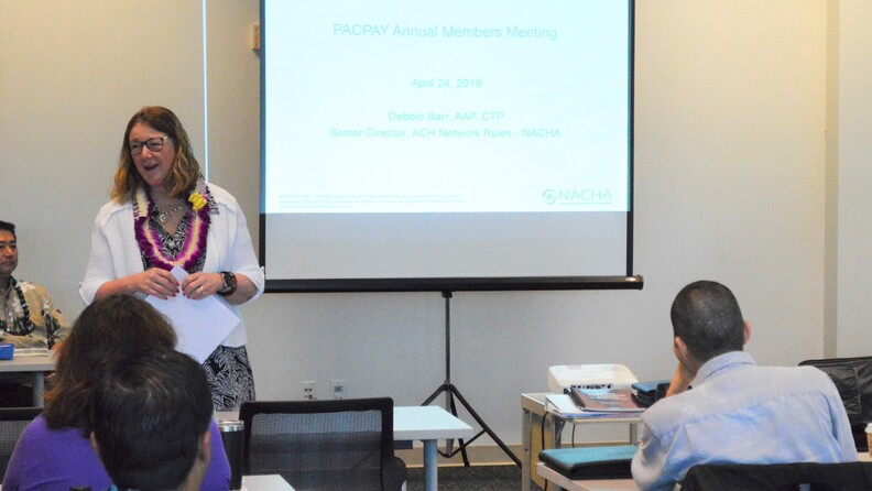 Mary Gilmeister 2019 PacPay Meeting